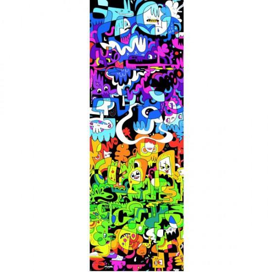 Puzzle 1000 pièces vertical - Burgerman : Griffonnage - Heye-29456-58123