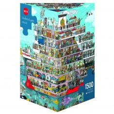 Puzzle 1500 pièces : Croisière, Anders Lyon