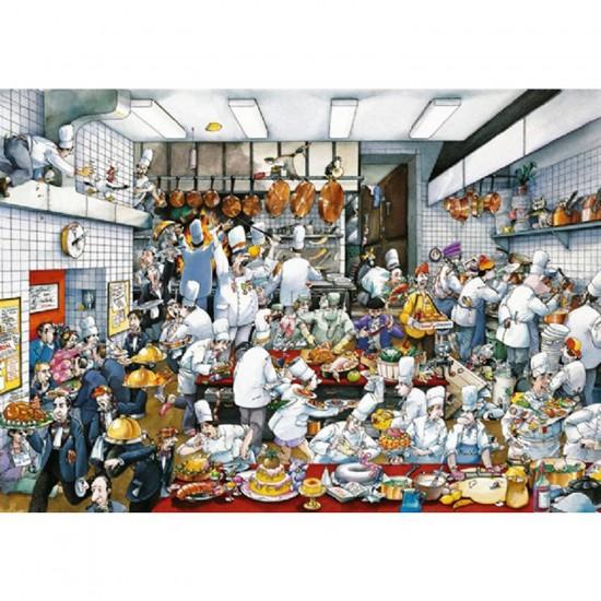 Puzzle 1500 pièces - Blachon : Bon appétit! - Heye-29130-58401