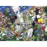 Puzzle 1500 pièces eBoy : Rio