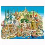 Puzzle 1500 pièces Hugo Prades : Global city