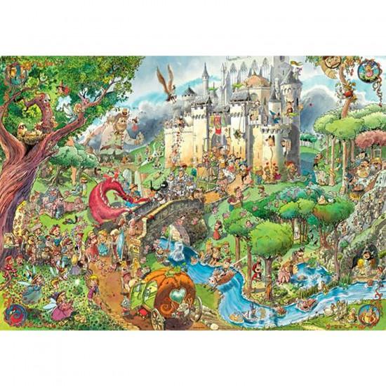 Puzzle 1500 pièces - Prades : Contes de fées - Heye-29414-58399
