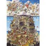 Puzzle 1500 pièces - Prades : Paradis et Enfer