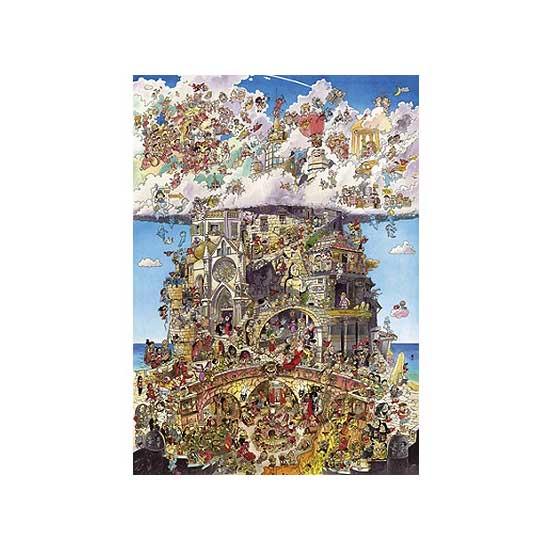 Puzzle 1500 pièces - Prades : Paradis et Enfer - Heye-29118-58402