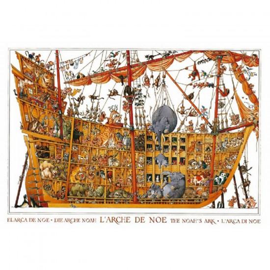Puzzle 2000 pièces - Wolf : Arche de Noë - Heye-25475-58432