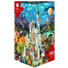 Puzzle 2000 pièces : Bavière, Ryba