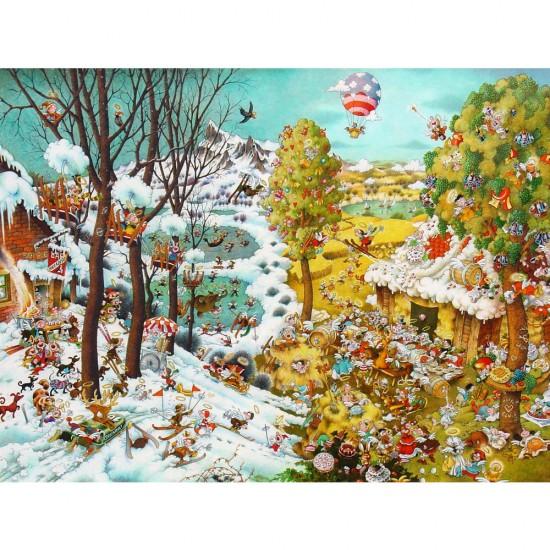 Puzzle 2000 pièces : Paradise Ryba - Heye-29704-58443