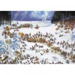 Puzzle 2000 pièces Jean-Jacques Loup : Hiver napoléonien