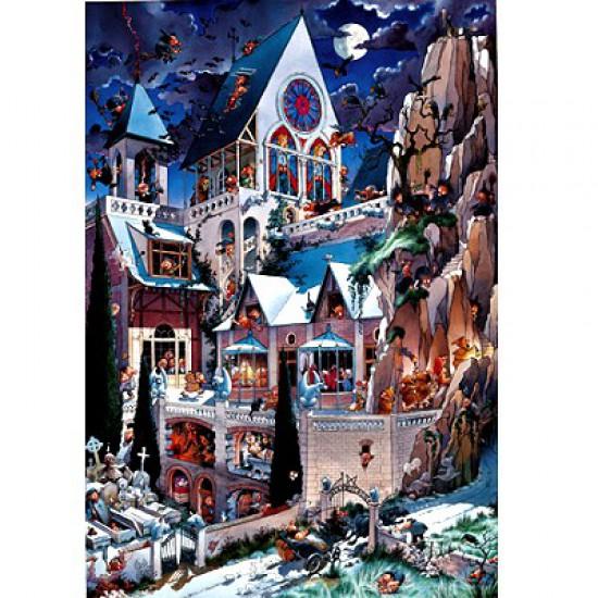 Puzzle 2000 pièces - Loup : Le château des horreurs - Heye-26127-58431