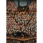 Puzzle 2000 pièces - Loup : Orchestre