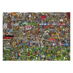 Puzzle 3000 pièces : Histoire du Football : edition Spéciale