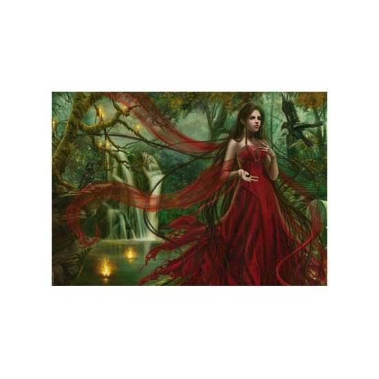 Puzzle 3000 pièces - Cris Ortega : La robe rouge - Heye-29272-58500