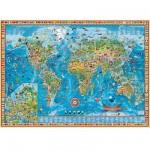 Puzzle 3000 pièces - Monde fantastique