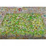 Puzzle 4000 pièces - Mordillo : Folle coupe du monde