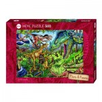 Puzzle 500 pièces : Carnivores