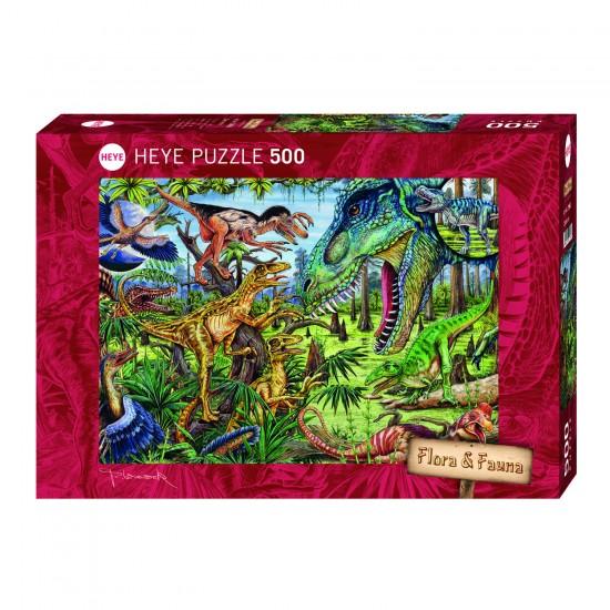 Puzzle 500 pièces : Carnivores - Heye-29660-58081