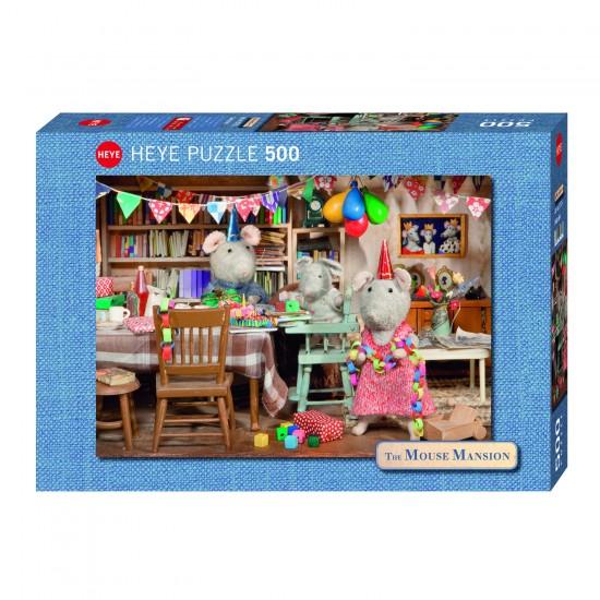 Puzzle 500 pièces : Célébration au manoir - Heye-29705-58057
