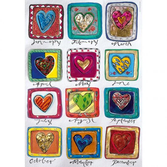 Puzzle 500 pièces : Year of Love, Steinmayer - Heye-29706-58088
