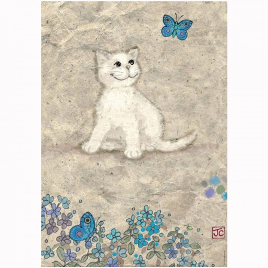 Puzzle 500 pièces Cats : Jane Crowther, Chat blanc - Mercier-29626-58092