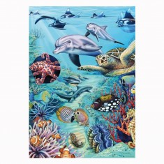 Puzzle 500 pièces Flora & Fauna : Marion Wieczorek, Tropical Waters