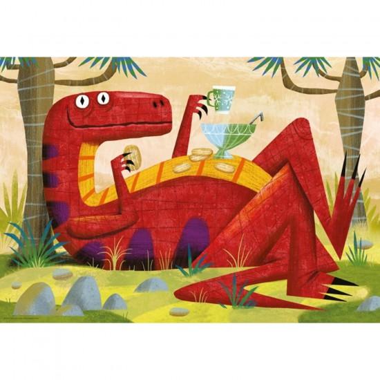 Puzzle 500 pièces Monsters : Michael Slack, Monster Punch - Mercier-29624-58292