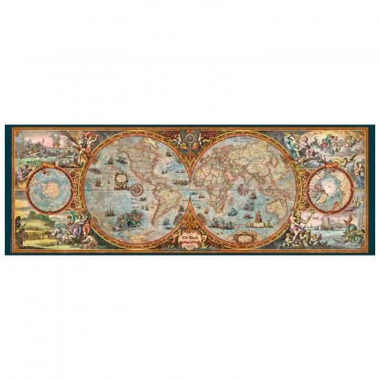 Puzzle 6000 pièces Rajko Zigic : Hemisphere Map - Heye-29615-58520