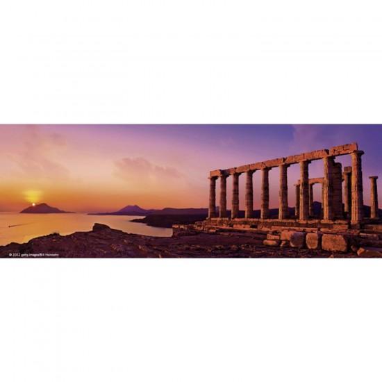 Puzzle 75 pièces panoramique Edition Alexander Humboldt : Temple Poséïdon - Heye-57907-29533