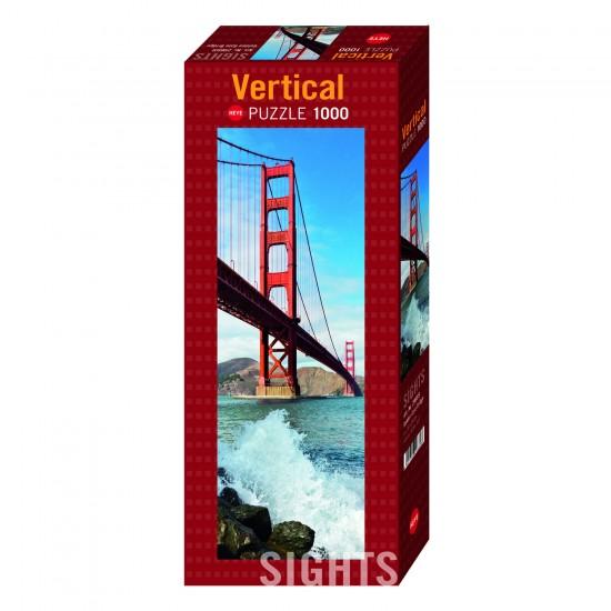 Puzzle Panoramique 1000 pièces : Golden Gate Bridge - Heye-29669-58324