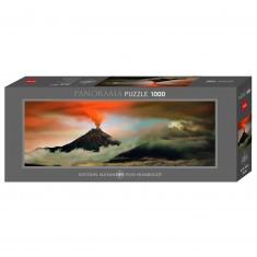 Puzzle Panoramique 1000 pièces : Volcan