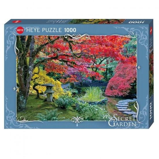 Puzzle 1000 pièces : Stone Lantern - Heye-58279