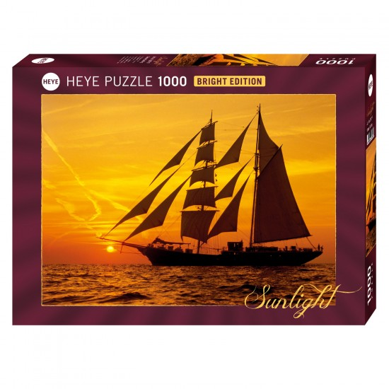 Puzzle 1000 pièces : Sunny Sailing - Heye-58172