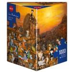 Puzzle 1000 pièces : Cats in Paris