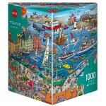 Puzzle 1000 pièces : Seaport