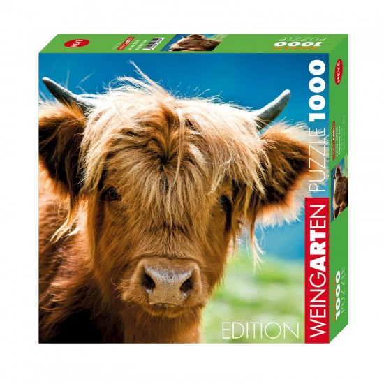 Puzzle 1000 pièces : Highland Cow - Heye-58127