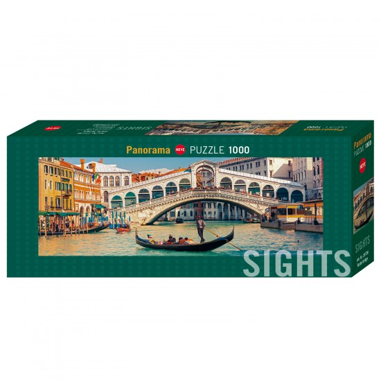Puzzle 1000 pièces : Rialto Bridge - Heye-58168