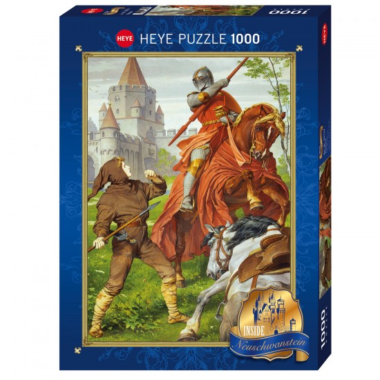 Puzzle 1000 pièces : Parzival - Heye-58262