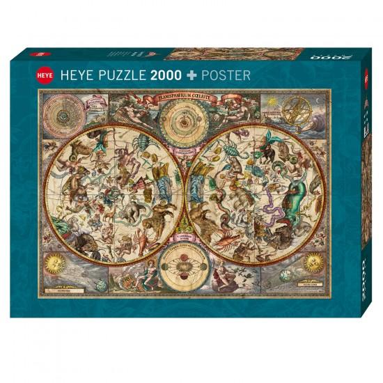 Puzzle 2000 pièces : Celestial Map - Heye-58368