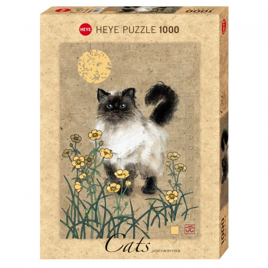 Puzzle 1000 pièces : Meadow Cat - Heye-58197
