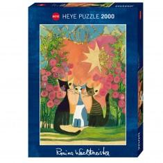 Puzzle 2000 pièces : Roses