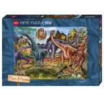 Puzzle 500 pièces : Herbivores