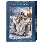Puzzle 1000 pièces : White Dream