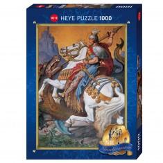 Puzzle 1000 pièces : Saint George