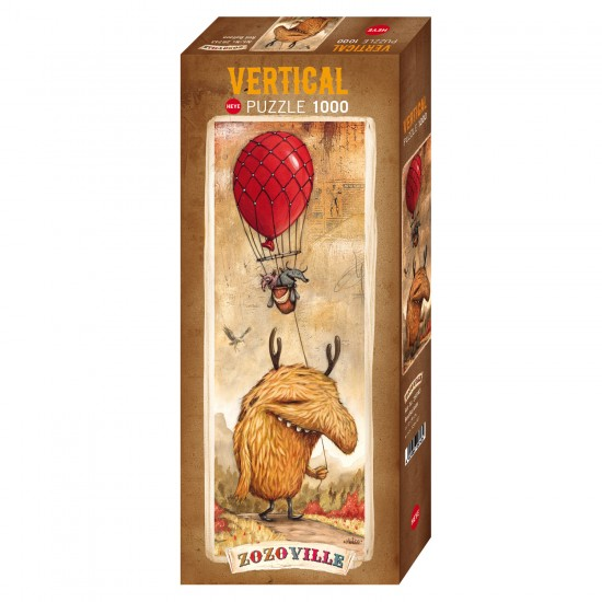 Puzzle 1000 pièces : Red Baloon - Heye-58149