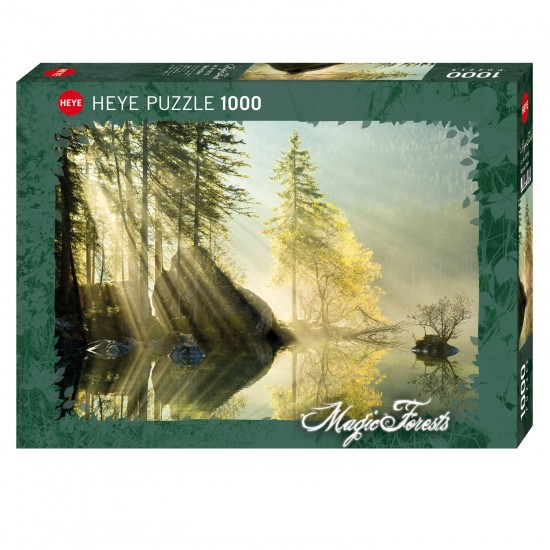 Puzzle 1000 pièces : Morning Glow - Heye-58263