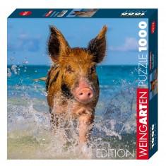 Puzzle 1000 pièce : Paradise Pig