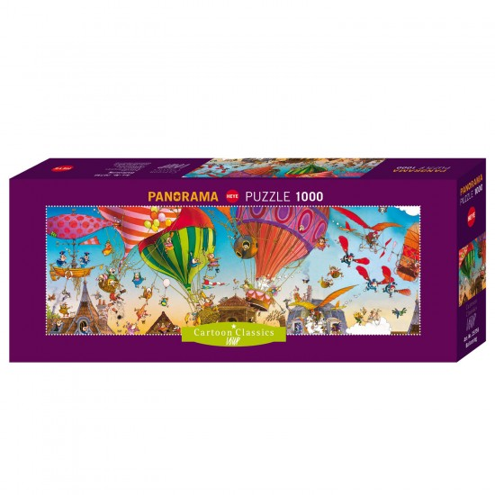 Puzzle 1000 pièces : Ballooning - Heye-58181