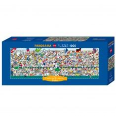 Puzzle 1000 pièces : Sports fans
