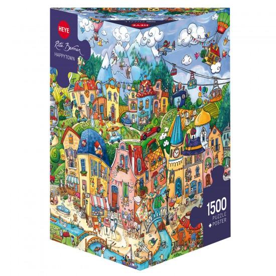 Puzzle 1500 pièces : Happytown - Heye-58395