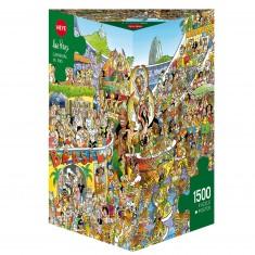 Puzzle 1500 pièces : Carnival in Rio