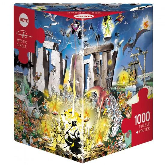 Puzzle 1000 pièces : Mystic Circle - Heye-58115